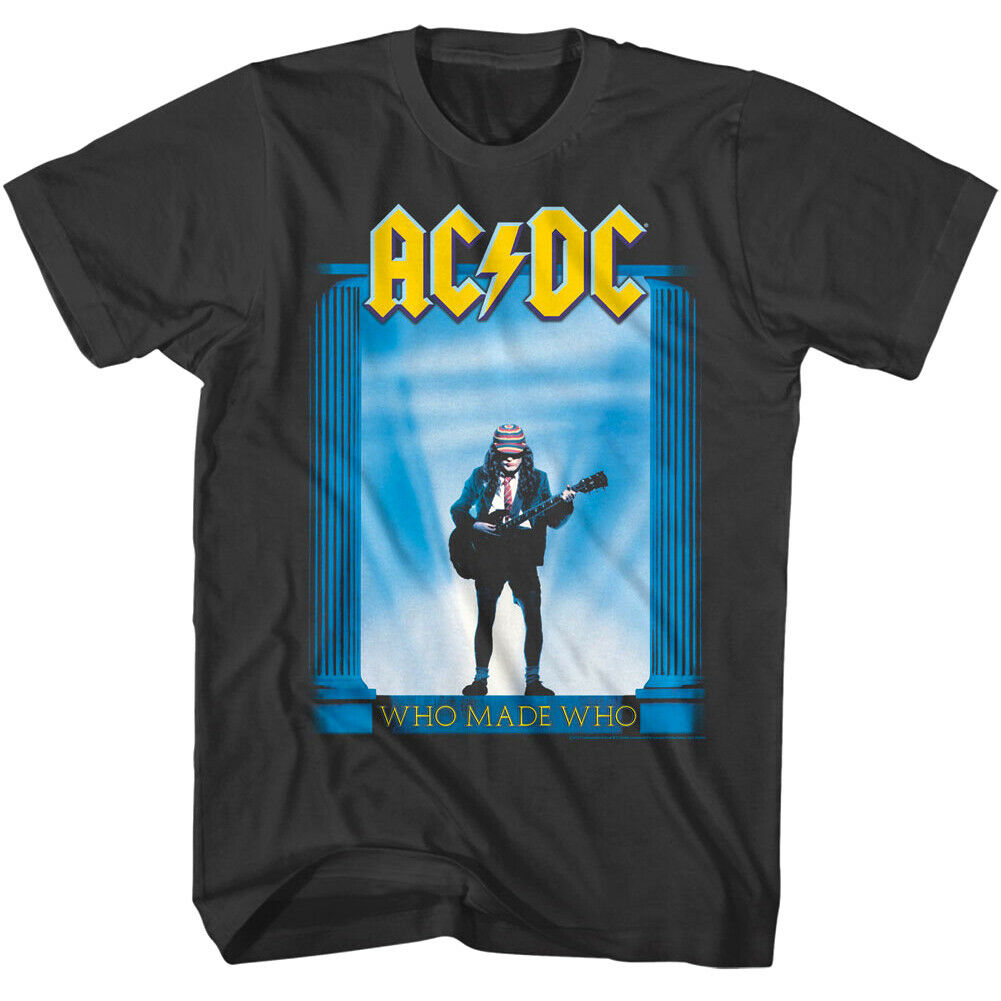 ACDC shirt Australian rock band shirt Hard rock Blues rock Rock and roll Ladies shirt size S