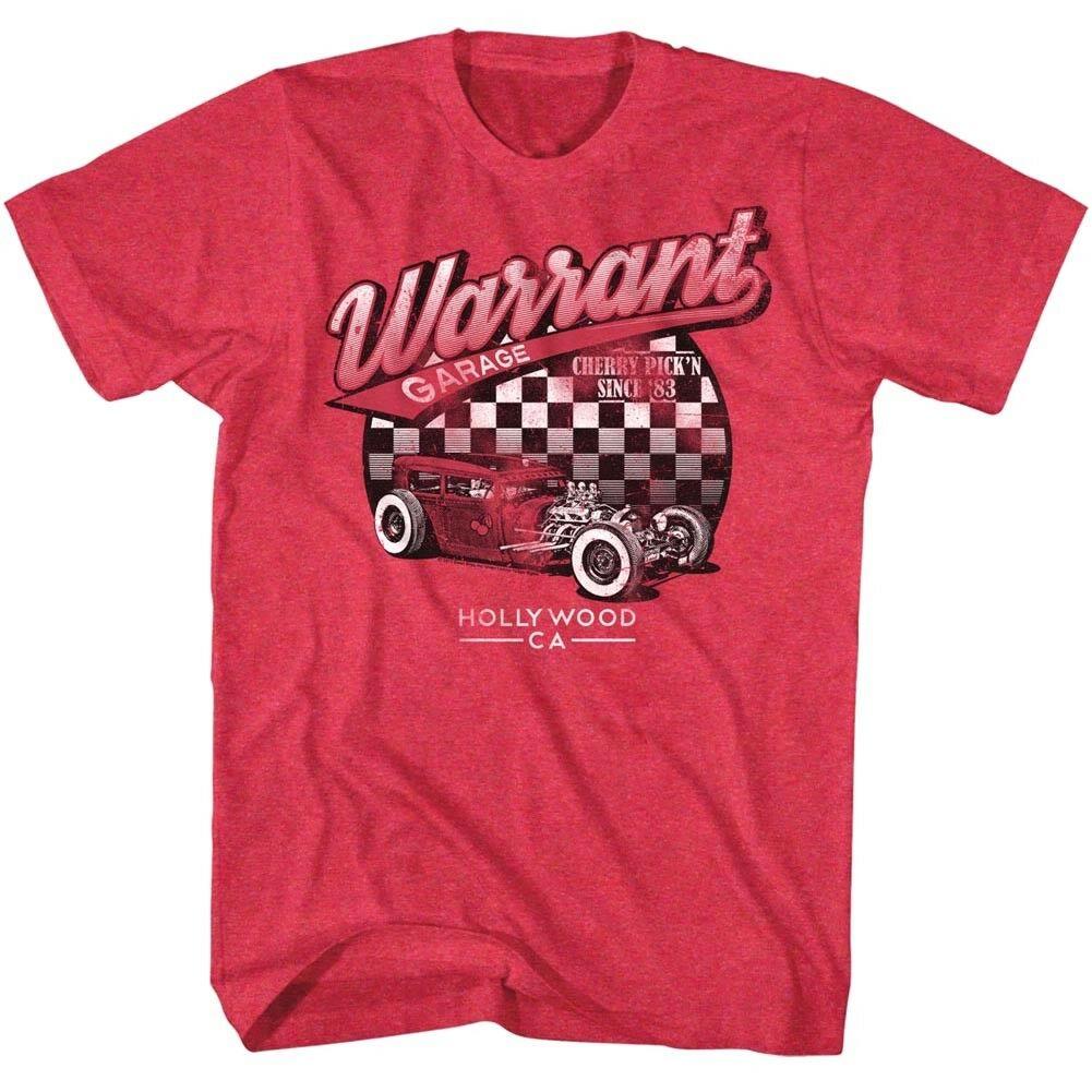 Warrant Garage Hollywood Womens Tank Top Metal Band Concert Tour Merch Racerback