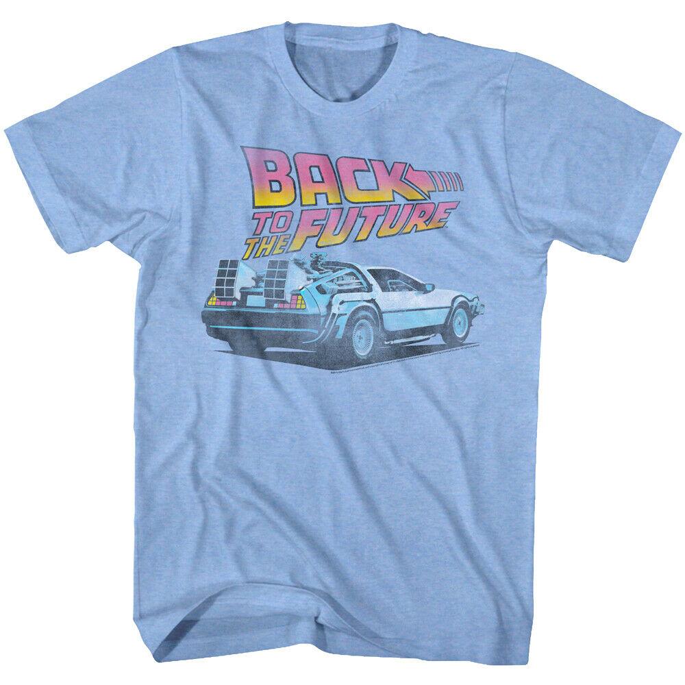 BACK TO THE FUTURE DELOREAN INSPIRED MOVIE FILM 90S MENS RETRO CLASSIC T Shirt