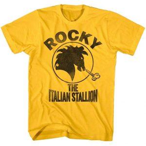 STALLION T-SHIRT Rocky Boxer Boxing Italian Balboa Movie