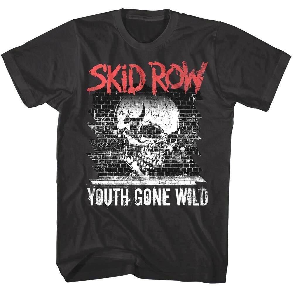 Skid Row United World Rebellion US Tour Dates 2013-14 Men/'s T Shirt Band Merch