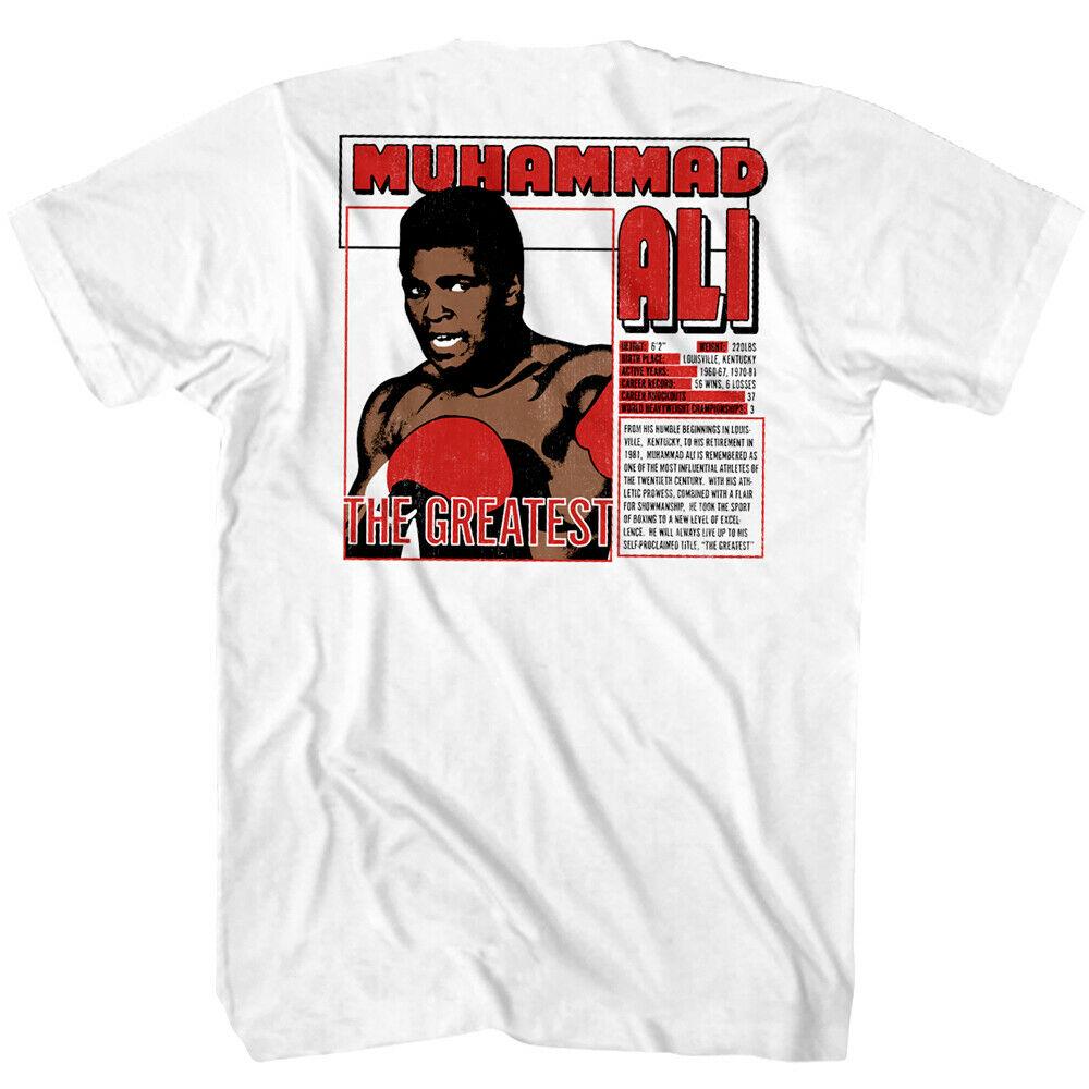 Muhammad Ali Louisville Cassius Clay Men/'s T Shirt Kentucky Boxing Legend Top
