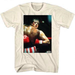 Rocky Balboa Million to One Shot Movie Poster Mens T Shirt Boxing Champ Stallone