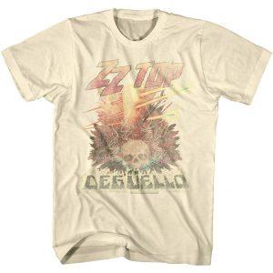 ZZ Top Fandango Album Cover Men/'s T Shirt Logo Metal Rock Band Music Tour Merch