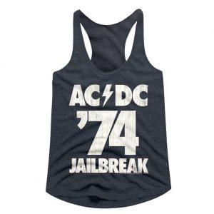 ACDC HELLS BELLS Tank Top Men Black Rock Athletic Vest Rock Band Shirt