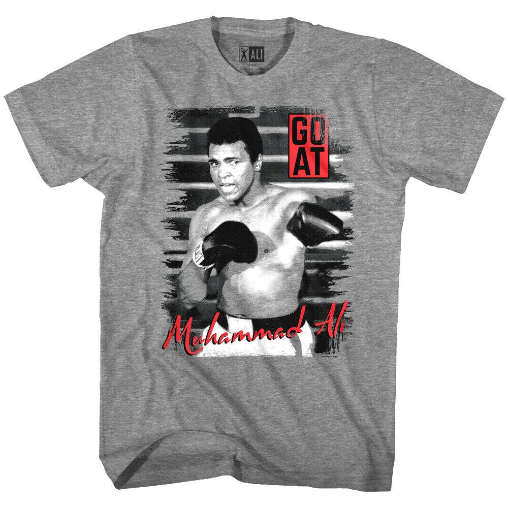 Muhammad Ali GOAT Greatest of all Time Black Premium T-Shirt Boxing